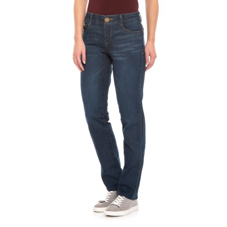 Image of AbTechnology Straight Leg Jeans (For Women)