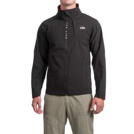 Abu Garcia Elite Performance Soft Shell Jacket (For Men in Black