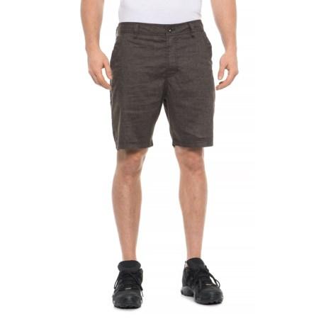 Image of Acacia Brown Furrow Shorts (For Men)