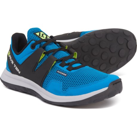 Access Mesh Hiking Shoes (For Men) - SOLAR BLUE (10 )