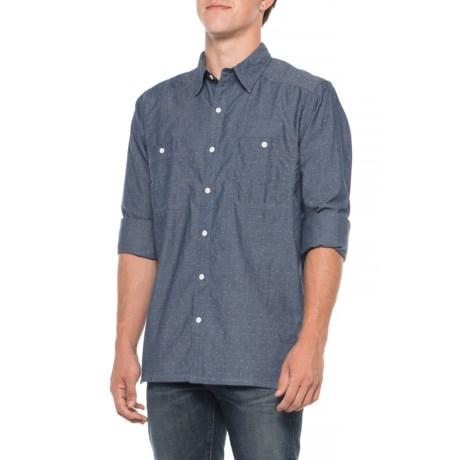 Image of Ace Indigo Shirt - Long Sleeve (For Men)