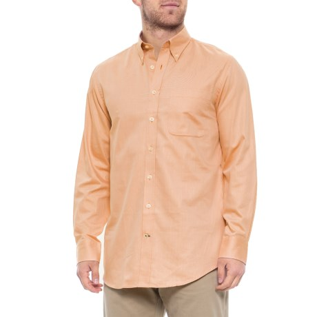 Ace Twill Shirt - Long Sleeve (For Men) - APRICOT (L )