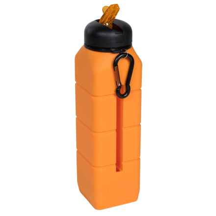 AceCamp Sound Water Bottle with Phone Holder - BPA-Free, 26 fl.oz. in Orange - Closeouts