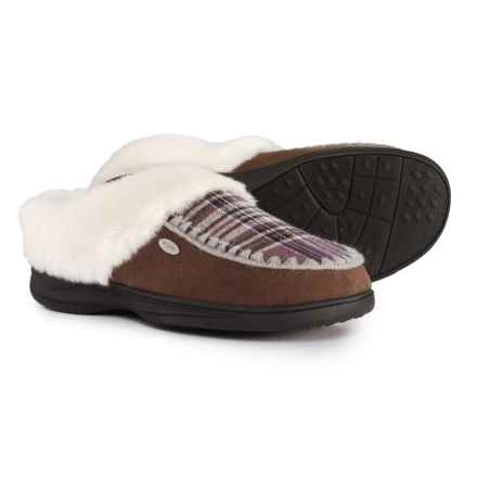 Acorn Acadia Scuff Slippers (For Women) in Taupe - Closeouts