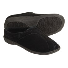 Acorn Ava Slippers - Fleece Lining (For Women) in Black - Closeouts