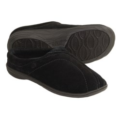 Acorn Ava Slippers - Fleece Lining (For Women) in Black