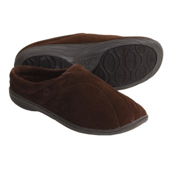Acorn Ava Slippers - Fleece Lining (For Women) in Chocolate
