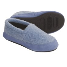 Acorn Berber Tex Moccasin Slippers (For Women) in Chambray - Closeouts