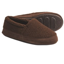 Acorn Berber Tex Moccasin Slippers (For Women) in Chambray