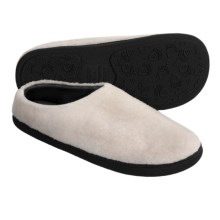 Acorn Berber Tex Slippers - Mules (For Women) in Ivory - Closeouts