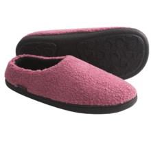 Acorn Berber Tex Slippers - Mules (For Women) in Rose - Closeouts