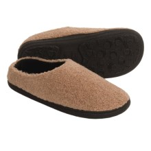 Acorn Berber Tex Slippers - Mules (For Women) in Toffee - Closeouts
