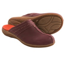 Acorn C2G Lite Artisan Clogs - Leather (For Women) in Chianti - Closeouts