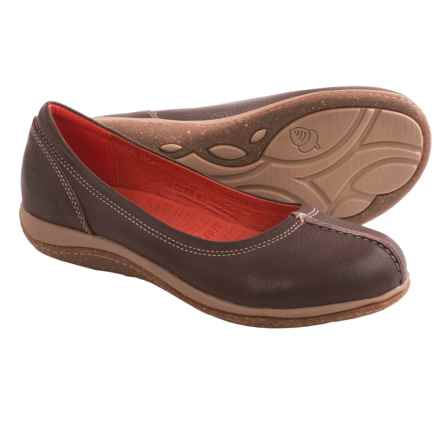 Acorn C2G Lite Ballet Flats - Leather (For Women) in Espresso - Closeouts