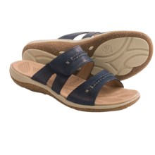 Acorn C2G Lite Sandals - Leather (For Women) in Navy - Closeouts