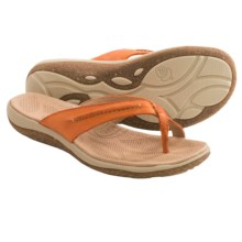 Acorn C2G Lite Thong Sandals - Leather (For Women) in Orange - Closeouts