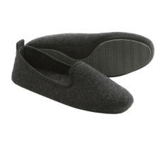 Acorn Cashmere Lip Ballerina Slippers (For Women) in Derby Grey - Closeouts