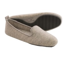 Acorn Cashmere Novella Slippers - Slip-Ons (For Women) in Pearl Grey - Closeouts