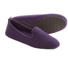 Acorn Cashmere Novella Slippers - Slip-Ons (For Women) in Petunia - Closeouts