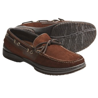 Acorn Casual Camp Moc Shoes - Handsewn Leather (For Men) in Sienna Suede