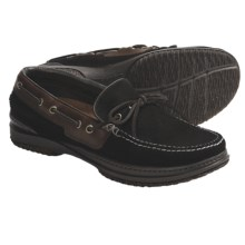 Acorn Casual Camp Moc Shoes - Handsewn Leather (For Men) in Slate Suede - Closeouts