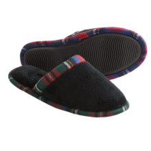 Acorn Cate Spa Scuff Slippers - Terry Cloth, Slip-Ons (For Women) in Black - Closeouts