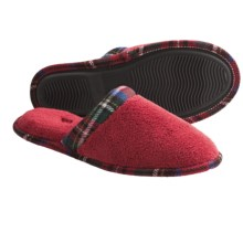 Acorn Cate Spa Scuff Slippers - Terry Cloth, Slip-Ons (For Women) in Scarlet - Closeouts