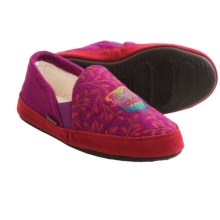 Acorn Colby Gore Moc Slippers (For Kids and Youth) in Orchid - Closeouts