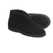 Acorn Cozy Bootie Slippers (For Women) in Black - Closeouts