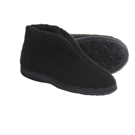Acorn Cozy Bootie Slippers (For Women)
