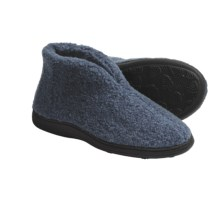 Acorn Cozy Bootie Slippers (For Women) in Denim - Closeouts