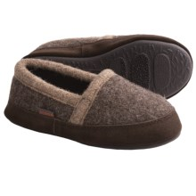 Acorn Cozy Moc Slippers - Boiled Wool (For Boys) in Grouse - Closeouts