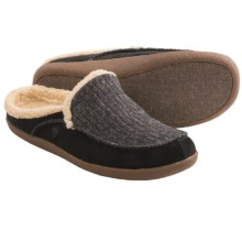 Acorn Crosslander Mule Slippers - Fleece Lining (For Men) in Graphite - Closeouts