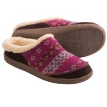 Acorn Crosslander Mule Slippers (For Women) in Mulberry - Closeouts