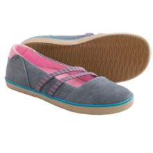 Acorn Crossroad Moccasins (For Women) in Indigo - Closeouts