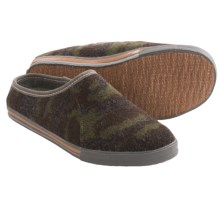 Acorn Crossroad Mule Slippers (For Men) in Camo - Closeouts