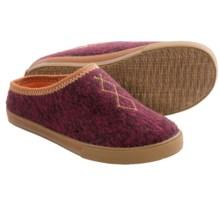Acorn Crossroad Mule Slippers (For Women) in Raspberry Heather - Closeouts