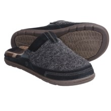 Acorn Descent Mule Slippers (For Men) in Graphite Heather - Closeouts