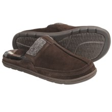 Acorn Descent Mule Slippers (For Men) in Java Suede - Closeouts