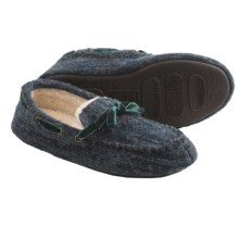 Acorn Dorm Moc Slippers - Wool (For Women) in Rainstorm - Closeouts