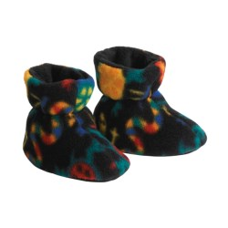 Acorn Easy Booties (For Toddlers) in Black Lizard