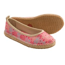 Acorn Espie Ballet Flats (For Women) in Poppy Print - Closeouts