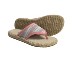 Acorn Espie Thong Sandals (For Women) in Poppy Wash - Closeouts