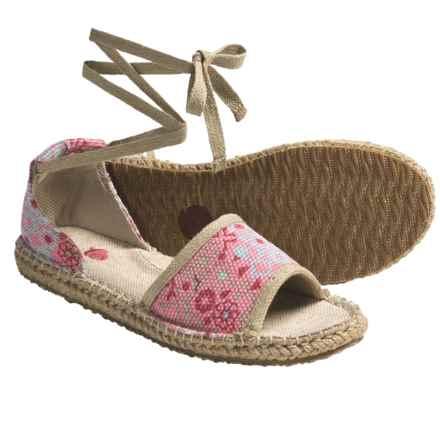 Acorn Espie Tie Sandals (For Women) in Poppy Print - Closeouts