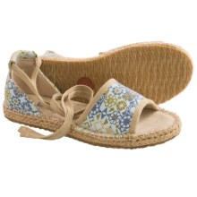 Acorn Espie Tie Sandals (For Women) in Surf Print - Closeouts