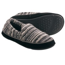 Acorn Giona Moc Slippers (For Women) in Charcoal Multi - Closeouts