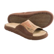 Acorn Hadly Sandals - Leather-Jute (For Women) in Adobe/Luggage - Closeouts