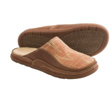 Acorn Hadly Shoes - Leather-Jute, Slip-Ons (For Women) in Adobe/Luggage - Closeouts
