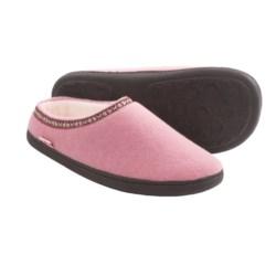 Acorn Highlander Slippers (For Women) in Pink