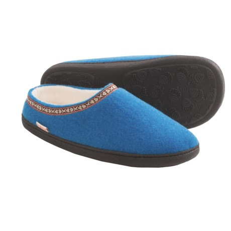 Acorn Highlander Slippers (For Women) in Teal